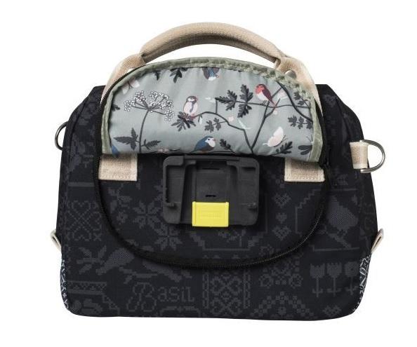 Basil Stuurtas Bohème City bag Charcoal 8L