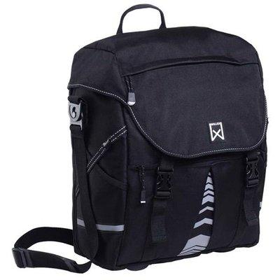 Willex Pakaftas XL 1200 25L Zwart