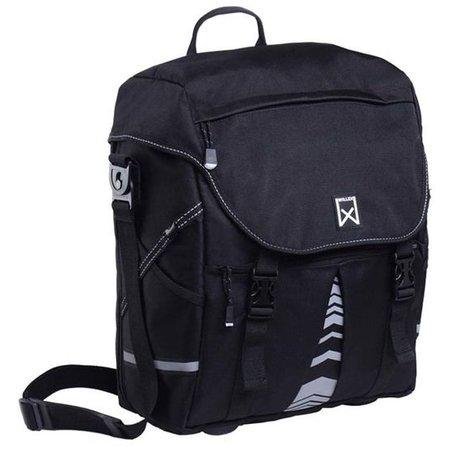 Willex Pakaftas en schoudertas XL 1200 21,5L Zwart