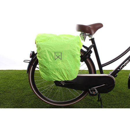 Willex Dubbele fietstas Bagagetas XL 1200 65L Afneembaar Bovenvak Zwart