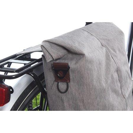 Basil Enkele fietstas City Shopper Grey Melee 16L