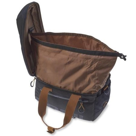 Basil Miles Trunkbag 7L MIK Bagagedragertas Black brown