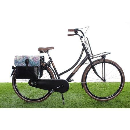 Beck Dubbele fietstas 35L Small Virtual Spaghetti