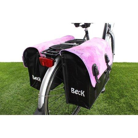 Beck Dubbele fietstas 46 L Classic Watercolors