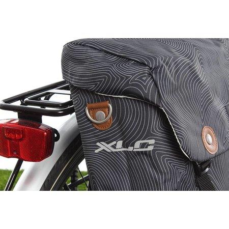 XLC Enkele fietstas Lux Anthracite Fingerprint 16L Grijs