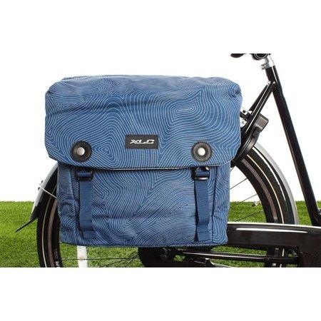 XLC Dubbele fietstas Lux 34L Blauw