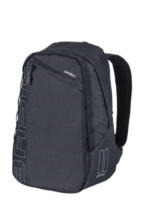 6cbdd8cde30 Basil Fietsrugzak Flex Backpack 17L Zwart | Fietstas en rugtas in 1 ...