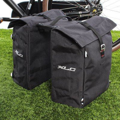 XLC Dubbele fietstas Commuter RT 31L Antraciet