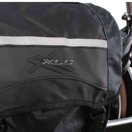 XLC Dubbele Fietstas 30L Zwart