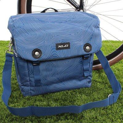 XLC Enkele fietstas Lux 16L Blauw