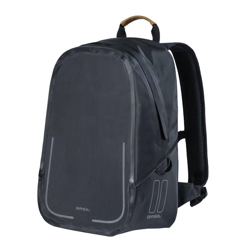 04f092b497d Basil Urban Dry Backpack 18L Mat Zwart | Fietstas en rugtas in 1 ...