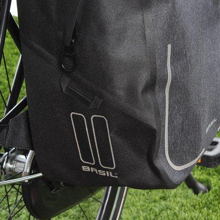 Basil Urban Dry Backpack Charcoal Mêlee 18L Grijs