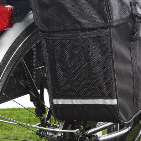 Lynx Dubbele fietstas Polyester 35L Zwart