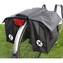 Urban Proof Dubbele fietstas 40L Black