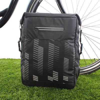 FastRider Enkele fietstas Reflex 16L Zwart
