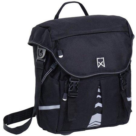 Willex Pakaftas en schoudertas S 1200 10L Zwart