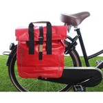 Rode fietstassen - stoer en opvallend