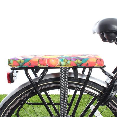 Hooodie Cushie Fruit- zacht fietskussentje voor op bagagedrager