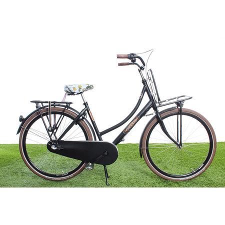 Hooodie Zadeldekje Saddle Daisy's - waterafstotende zadelhoes fiets