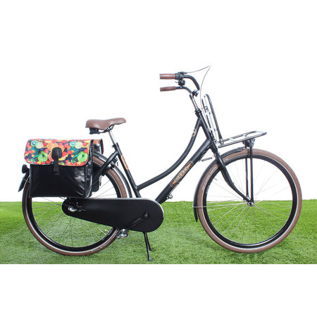 Beck Dubbele fietstas 35L Small Fruit