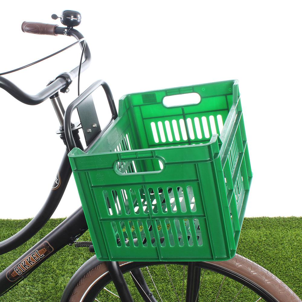 Fietskrat 30L Army Green kopen met voordeel