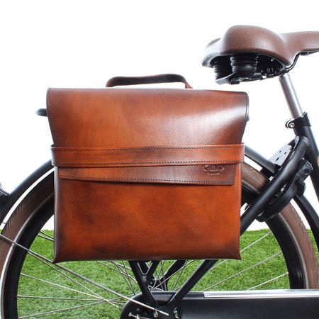 Selle Monte Grappa Enkele fietstas Leather Bag Charleston 7,5L Bruin