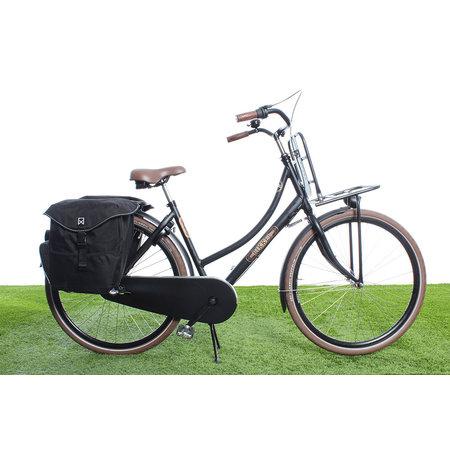 Willex Dubbele fietstas Bagagetas 34L Zwart