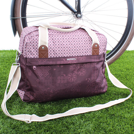 Basil Bohème Carry All Fig Red
