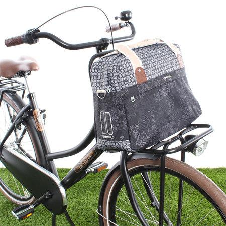Basil Bohème Carry All Charcoal 18L Zwart