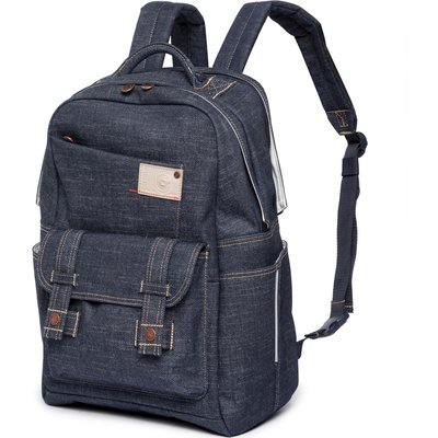 Cortina Rugtas Kansas Backpack Denim 20L Blauw