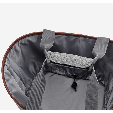 Racktime Fietsmand / pakaftas Agnetha 15L Carbon Black