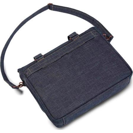 Cortina Kansas Messenger Bag Denim 12L Blauw - Tas voor voordrager
