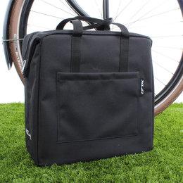 XLC Enkele fietstas Shopping Bag 19L Zwart