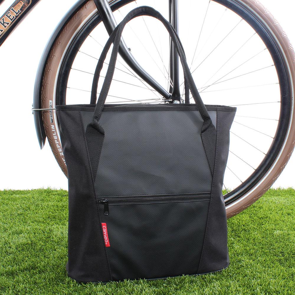 Enkele Fietstas / Shopper Cameo 18L Zwart kopen met voordeel