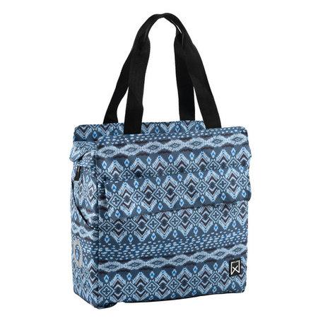 Willex Indigo Shopper 17 liter Blauw