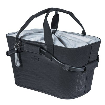 Basil Fietsmand Noir Carry All Rear Basket 22L Zwart