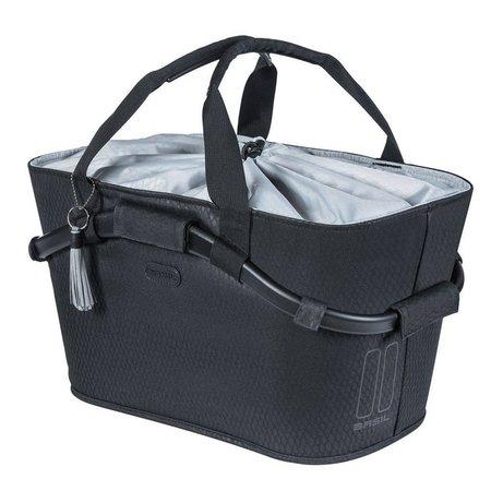 Basil Fietsmand Noir Carry All Rear Basket 22L Zwart