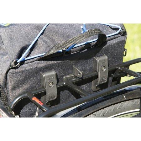 New Looxs Enkele fietstas Sports Low Rider 11L Zwart