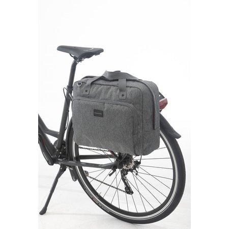 New Looxs Enkele fietstas Postino Single 18L Grijs