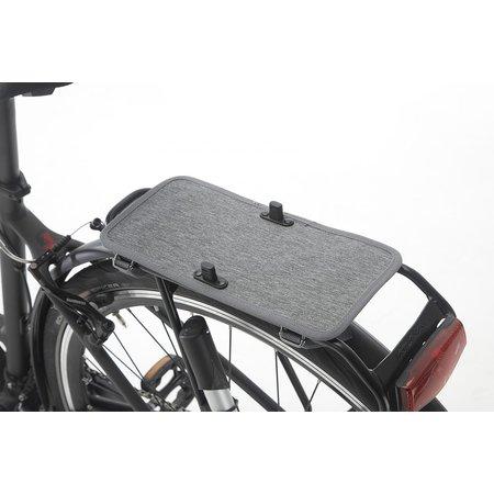 New Looxs Dubbele fietstas Nova Double 32L Zwart - Afneembaar