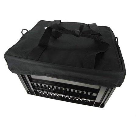 Hooodie Crate Krattas Zwart - voor Kerri fietskrat