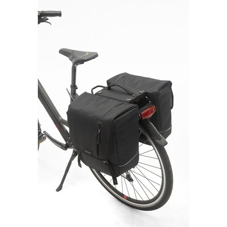 New Looxs Dubbele fietstas Nova Double RT 32L Zwart