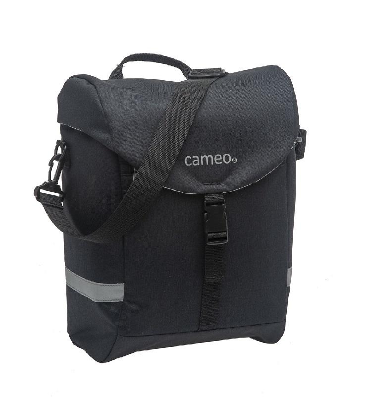 Enkele fietstas Cameo Sports Bag Single 14L Zwart kopen met voordeel