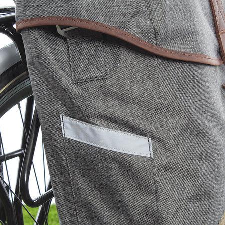 Racktime Enkele fietstas / schoudertas Mia 17,5L Dust Grey/Desert Sand