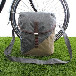 Racktime Enkele fietstas Mia 17,5L Dust Grey/Desert Sand