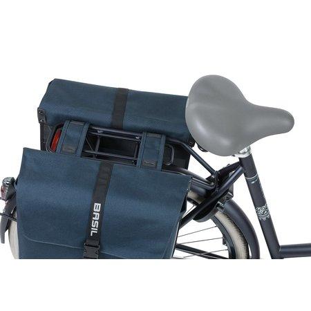 Basil Dubbele fietstas Forte 32L Blauw/Zwart