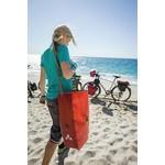 Milieuvriendelijke fietstassen van gerecycled materiaal