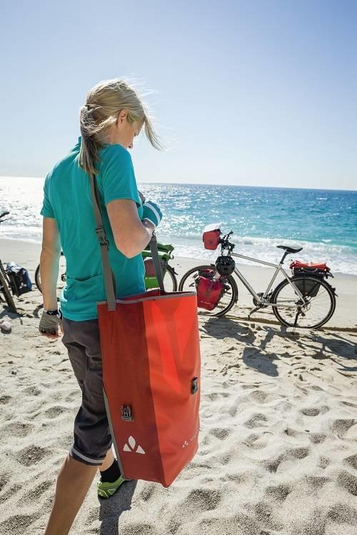 Milieuvriendelijke fietstassen