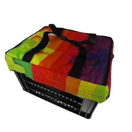 Hooodie Crate Krattas Blocks - voor Kerri fietskrat