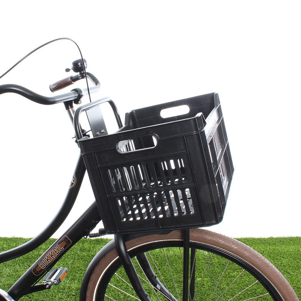 Fietskrat 30L Black - Recycled kopen met voordeel